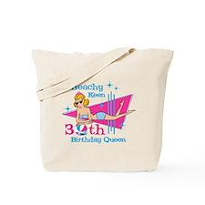 Beachy Keen 30th Birthday Tote Bag