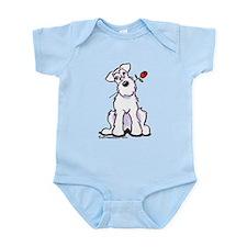 Schnauzer Sweetheart Infant Bodysuit