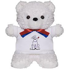 Schnauzer Sweetheart Teddy Bear