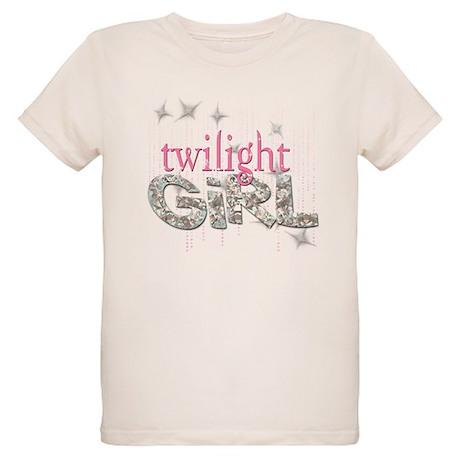 Twilight Girl Pink Organic Kids T-Shirt