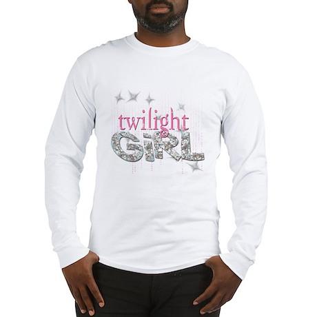 Twilight Girl Pink Long Sleeve T-Shirt