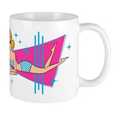 Beachy Keen 50th Birthday Mug