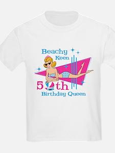Beachy Keen 50th Birthday T-Shirt