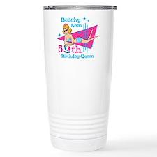 Beachy Keen 50th Birthday Travel Mug