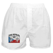 Ceska Republika Soccer Boxer Shorts