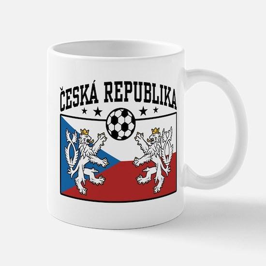 Ceska Republika Soccer Mug