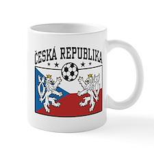 Ceska Republika Soccer Small Mug