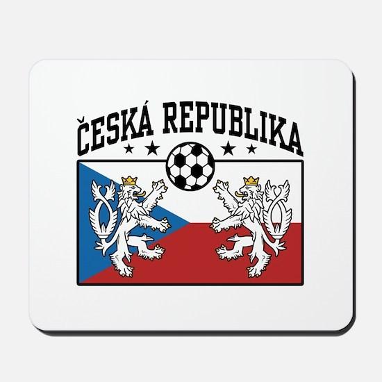 Ceska Republika Soccer Mousepad