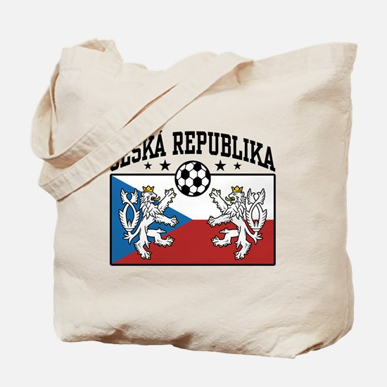 Ceska Republika Soccer Tote Bag