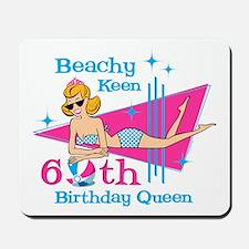 Beachy Keen 60th Birthday Mousepad