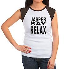 Jasper Say Relax Women's Cap Sleeve T-Shirt