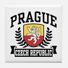 Prague Czech Republic Tile Coaster