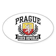 Prague Czech Republic Bumper Stickers