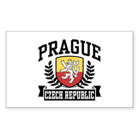 Prague Czech Republic Sticker (Rectangle)