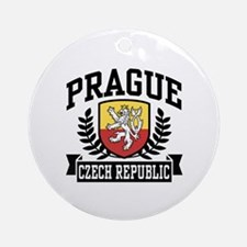 Prague Czech Republic Ornament (Round)