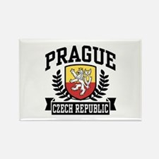 Prague Czech Republic Rectangle Magnet