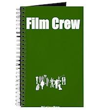 """Film Crew"" Journal - Green"