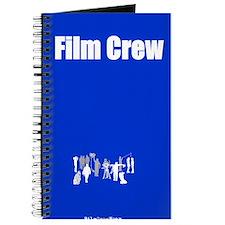 """Film Crew"" Journal - Blue"