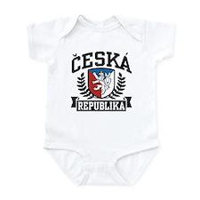 Ceska Republika Infant Bodysuit