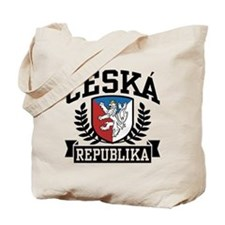 Ceska Republika Tote Bag