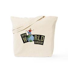 nwe world order Tote Bag