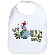 New world order skateboard Bib