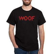 Woof Black T-Shirt