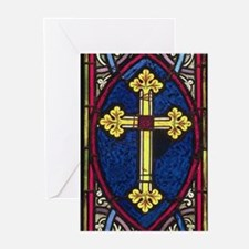 Cross design Greeting Cards (Pk of 10)