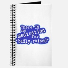 No medication for badly raised Journal