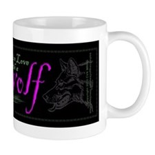 I'm in Love with a Werewolf Small Mugs
