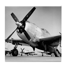 P-47 Ready To Go Tile Coaster