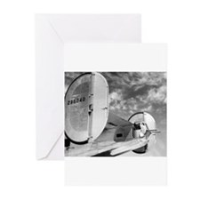 Cool B airplane Greeting Cards (Pk of 10)