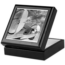 Cute B airplane Keepsake Box
