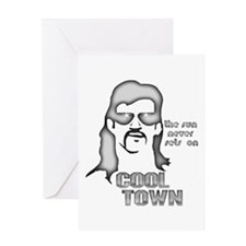 Cool Town Greeting Card