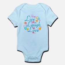 Live Laugh Love Infant Bodysuit