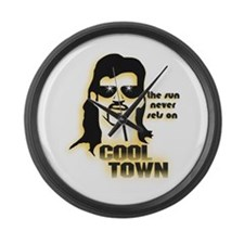 Cool Town (Y) Large Wall Clock