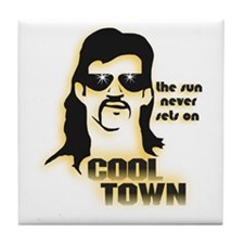 Cool Town (Y) Tile Coaster
