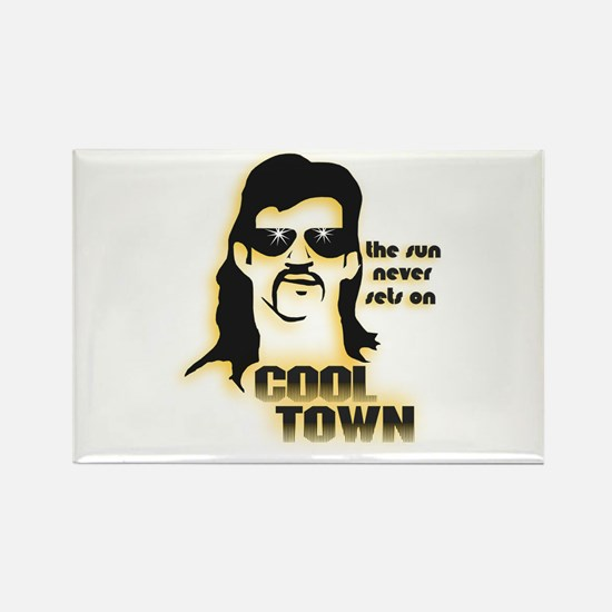 Cool Town (Y) Rectangle Magnet