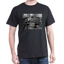 B-24 Cockpit Black T-Shirt