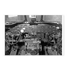 B-24 Cockpit Postcards (Package of 8)
