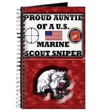 Proud Auntie of a U.S. Marine Scout Sniper Journal