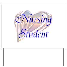 Cute Student nurse Yard Sign