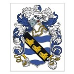 Purcell Coat of Arms Small Poster