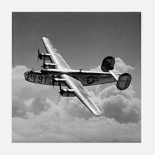 B-24 Shines Tile Coaster