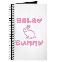 Belay Bunny Journal