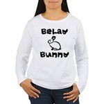 Belay Bunny Women's Long Sleeve T-Shirt