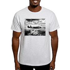B-24 Flying High Ash Grey T-Shirt