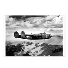 B-24 Flying High Postcards (Package of 8)