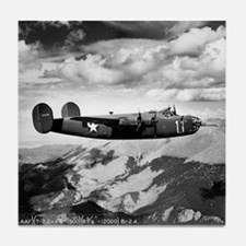 B-24 Flying High Tile Coaster