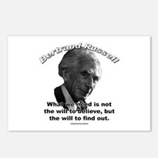 Bertrand Russell 02 Postcards (Package of 8)